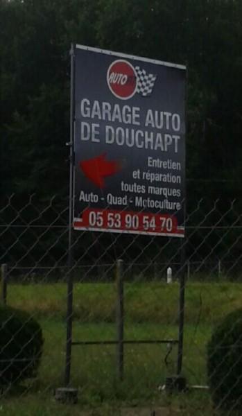 GARAGE AUTO DE DOUCHAPT