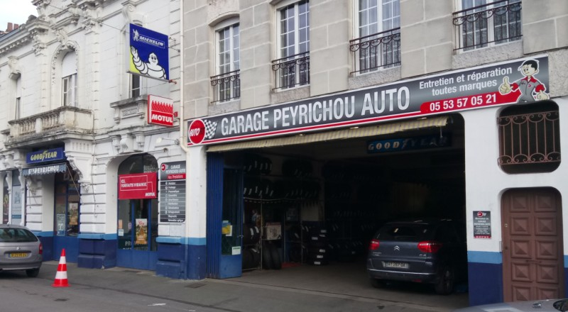 Garage PEYRICHOU
